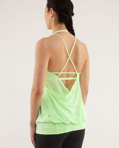 A very cute workout top. (lululemon.com) Lululemon.com has really cute workout tops, bottoms, skirts and more