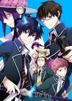 black exorcist anime | Ao no Exorcist - Blue Exorcist ~ Anime - Cosplay & Beyond