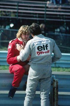 Jody Scheckter, James Hunt, Formula 1 Car, Motor Sport, Michael J, Car And Driver, F 1, Auto Racing, Pilots