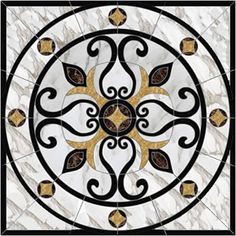 Floor Patterns, Floor Design, Stained Glass, Marble, Flooring, Stone, Rugs, Interior, Shopping