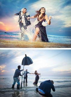 Com uma boa câmera, criatividade e um programa de edição essas fotos são feitas com maestria!