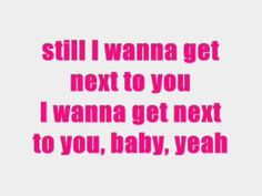 """""""I Wanna Get Next To You""""-Rose Royce"""