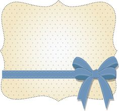 Label style with ribbon. Quilling Paper Craft, Paper Crafts, Costura Vintage, Card Tags, Cards, Envelopes, Birthday Frames, Baby Kit, Frame Clipart