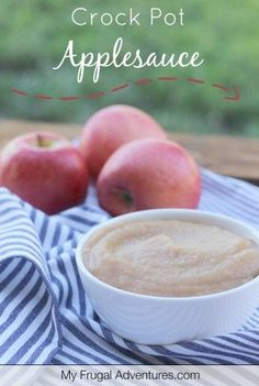 Easy Crock Pot Apple