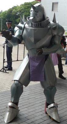 This must've taken forever to make. Alphonse Elric from FMA and FMAB
