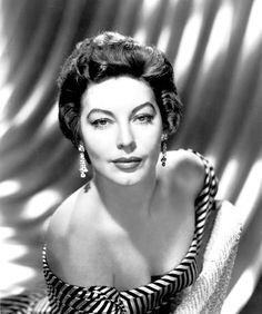 """""""Ava Gardner in the 1950s. """""""