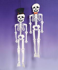 Felt Hanging Skeleton Set | Daily deals for moms, babies and kids