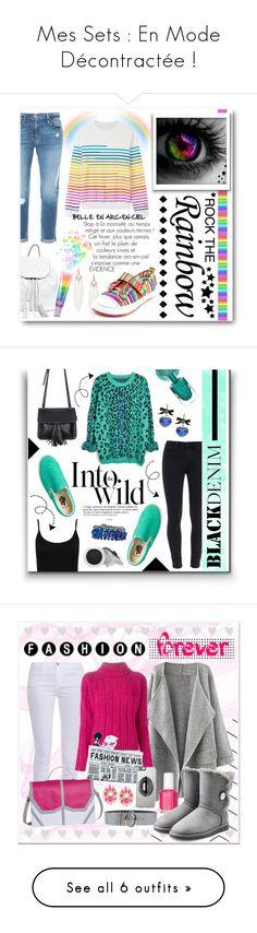 """Mes Sets : En Mode Décontractée !"" by drinouchou ❤ liked on Polyvore featuring Frame Denim, TigerBear Republik, Rebecca Minkoff, claire's, Mary Katrantzou, women's clothing, women's fashion, women, female and woman"