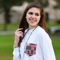 Our patriotic tab on the website is full of stand out summertime wear! Shop this look with the link in bio  #fraternitycollection #america