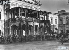 Vintage Photography, World War Ii, Wwii, Poland, Architecture, Places, Argo, Live, Historia