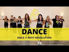 is back, and we're ready to DANCE! This feel-good song by DNCE is all about letting go and dancing it out, and that's something we can always. Dance Workout Videos, Workout Music, Cardio Dance, Dance Workouts, Cardio Workouts, Fitness Exercises, Dance Fitness, Fitness Music, Zumba Fitness