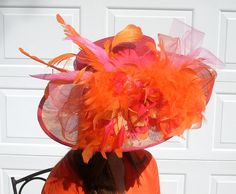 Items similar to Kentucky Derby Hat, Award Winning Design in Green and Blues on Etsy Kentucky Derby Hats, Love Hat, Favorite Color, Trending Outfits, Handmade Gifts, Hat Boxes, Attic, Green, Pink