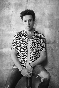 Radio and TV broadcaster Nick Grimshaw will launch his debut collection for TOPMAN on October Having been very much involved with TOPMAN for the past year, the presenter has now designed a collection which. Boy Fashion, Mens Fashion, Fashion Design, Nick Grimshaw, Film Inspiration, Fashion Inspiration, Celebrity Outfits, Celebs, Celebrities