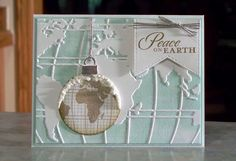 Peace on Earth Christmas in August by Sylvaqueen - Cards and Paper Crafts at…