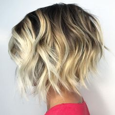 Most Beneficial Haircuts for Thick Hair of Any Length Uneven Short Razored BobUneven Short Razored Bob Cute Bob Haircuts, Short Hairstyles For Thick Hair, Very Short Hair, Haircut For Thick Hair, Wavy Hair, Short Hair Cuts, Uneven Bob Haircut, Thick Short Hair, Curls Hair