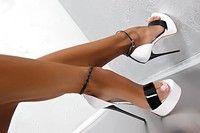 Wish | 17.5CM Super High Heels Brand Designer New Sexy Platform Peep Toe Pumps Summer Sandals Stiletto Runway Party Dress Shoes Women