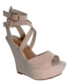 Look what I found on #zulily! Natural Candy-1 Platform Sandal by Fashion Focus #zulilyfinds