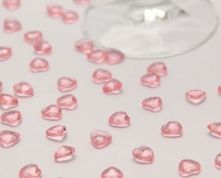 Pink scatter hearts