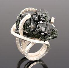 Ring By Nobuko Okumura -  Silver/Cassiterite