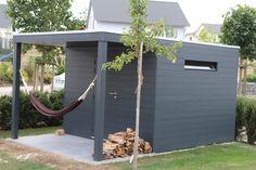 Moderne Gartenhäuser, gelungene Architektur auf kleinem Raum - ob Spitzdach oder Flachdach, im Shop von Gartenhauszentrum.de haben Sie eine große Auswahl.