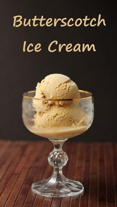 Butterscotch Ice Cream