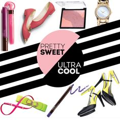 To celebrate the launch of our latest collection, we're taking a new style approach: pretty sweet versus ultra cool! Over the next few weeks we'll be highlighting how you can personalize these trends in both fashion and beauty! Check back here and look for our #prettysweet & #ultracool from http://www.SellingBeautyIsEasy.com