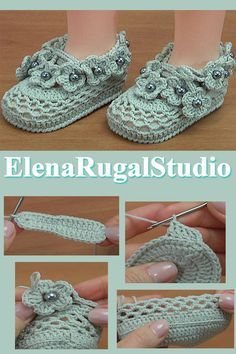 My crochet flower baby booties measures 10 – 11 centimeters. Crochet flower baby booties were made with yarn: Cotton, Polyacrylic, in 5 ply and crochet hook Crochet Hook size or ( or US standards) bead: cm Crochet Baby Sandals, Crochet Shoes, Crochet Baby Booties, Baby Booties Knitting Pattern, Baby Shoes Pattern, Baby Knitting, Crochet Girls, Crochet Flowers, Newborn Hats
