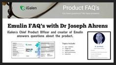 iGalen's Dr Ahrens Discusses | Type 1 | Weight Loss | Sports Performance