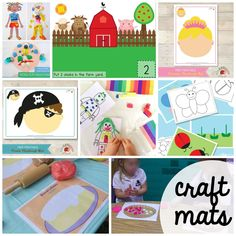 100-FREE-Playdough-Mats.-Fun-craft-mats-math-activities-and-literacy-activities.-Great-for-preschool-and-kindergarten..jpg (2000×2000)