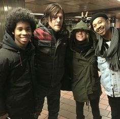 Norman Reedus and The Bots band.