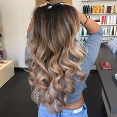 flaxen blonde fade natural base with tango 8c smokey blonde with 40 volume
