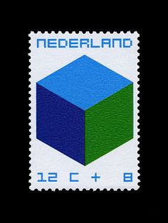 #Nederland 1970  The Child and The Cube by William Pars #Graatsma