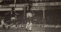 2 November 1985 Trevor Steven falls to the ground as he gives the Blues the lead at Upton Park