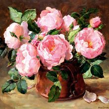 English Roses by Anne Cotterill.