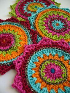 E-Book Untersetzer von crochet-jewels