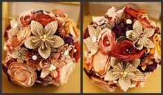 DIY paper bouquets - so pretty!