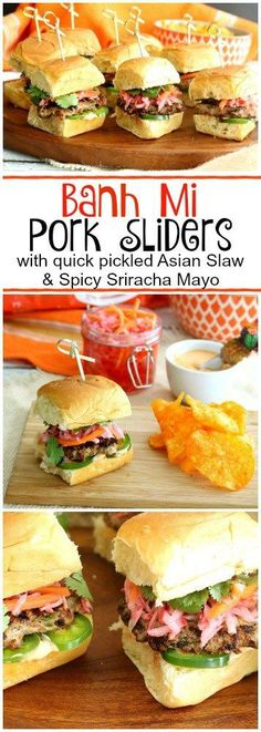 We've added a fun new twist on the classic Vietnamese street food by sandwichin' it between King's Hawaiian Jalapeno Rolls giving it a sweet and tangy kick! Pork Recipes, Asian Recipes, Cooking Recipes, Burger Recipes, Cookbook Recipes, Hawaiian Recipes, Hawaiian Rolls, Vietnamese Street Food, Vietnamese Recipes