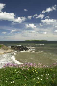 Tower Bay is on the Donabate Peninsula, north of Dublin city, and offers great views of Lambay Island.