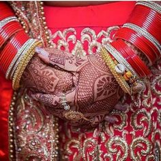 Active Chura Bangle Set 2.8 Red Maroon Rhinstone Bridal Dulhan Punjabi Wedding Party Engagement & Wedding