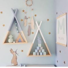 Find More Wall Stickers Information about INS Nordic wind wall decoration wooden rack shelf child room color macarons holding props children room decoration,High Quality Wall Stickers from Your Beautiful Life Store on Aliexpress.com