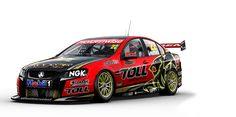 New livery for Holden Racing Team 2012.