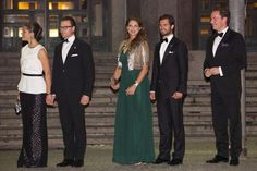 Princess Madeleine shows off first signs of her burgeoning baby bump - Photo 3 | Celebrity news in hellomagazine.com
