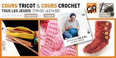 Rrose selavy » NOUVEAU COURS > Crochet niveau «débutant» jeudi 03 décembre Textiles, Merino Wool Blanket, Couture, Crochet, Tricot, Drawing Lessons, Thursday, Creative Crafts, Crochet Crop Top