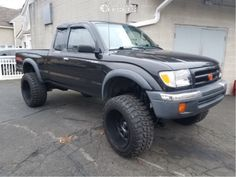 1999 Toyota Tacoma 20x12 -44mm Ultra Xtreme X108 Toyota Trucks, Toyota Tacoma, Monster Trucks, Tacoma World