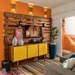 Móvel de Sala feito com paletes  Veja mais: http://maispaletes.com  #pallets #furniture #reciclagem #upcycling #decorative