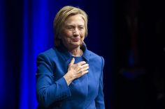"""Speaking at a Children's Defense Fund benefit in Washington, D.C., on Wednesday night, Hillary Clinton urged her supporters not to give up fighting in the face of Donald Trump's impending presidency.  """"I will admit coming here tonight wasn't the easiest thing for me,"""" Clinton said, in her first public"""