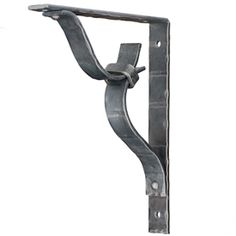 Pictured here is the 1.5 inch wide hand-forged Clifton Wrought Iron Corbel with…