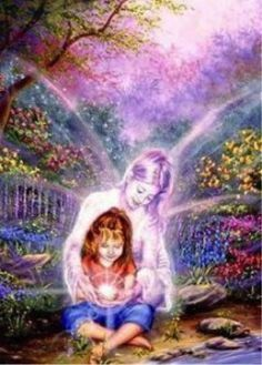 Crystal Children are the highest evolved beings! Crystal Children, as the name suggests, are beautiful inside and out. They are radiant babies, eyes aglow with a profound and trusting gaze. To learn more about these special children Click the picture to r I Believe In Angels, Indigo Children, Doreen Virtue, Angels Among Us, Guardian Angels, Guardian Angel Pictures, Angel Art, Spirit Guides, Inner Child