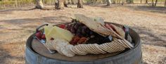 Kirrihill platter on Barrell Clare Valley, South Australia, Platter, Wines