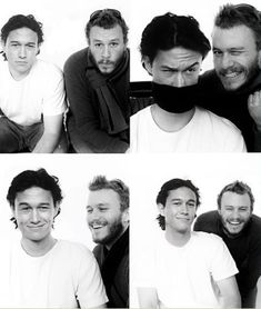 JGL and Heath Ledger